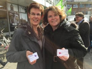 Corry Conijn en Barbara de Kooter van Noordrand2025 enqueteerden in Woudhoek en Spaland-Sveaparken in 2016